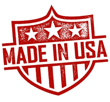 All manufacturing will take place with our US based manufacturer.