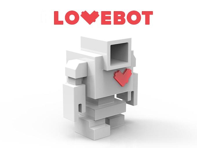 DIY Lovebot *digital rendering by Matthew Del Degan