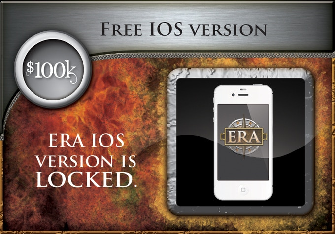 At $100,000 all backers will receive a free IOS version of the game! This is such an exciting stretch goal for us!