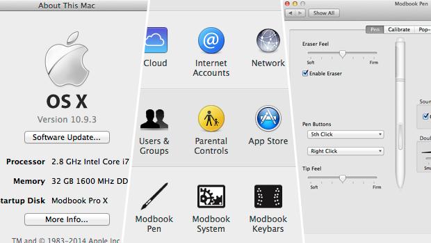 Modbook Pro X — 15.4