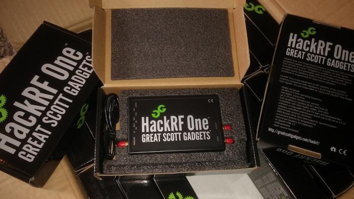 HackRF, an open source SDR platform by Michael Ossmann