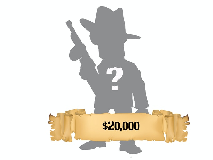At $20,000 we will reveal more Zombie Cards, and more Zeeples!