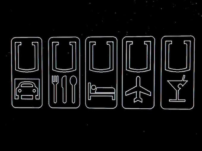 Travel Icon Clip Set