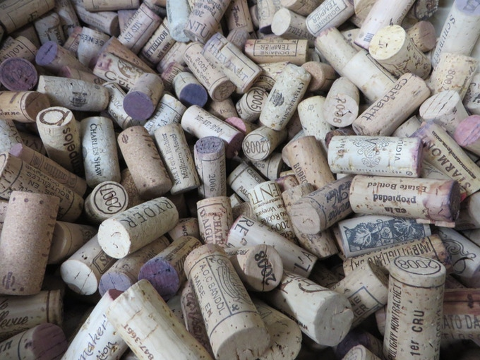 Whole lotta Cork Magnets to be.  Let's just say we thoroughly enjoyed this part!