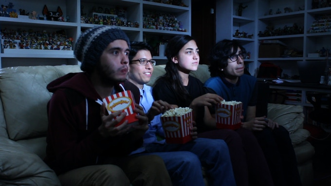 Rick Córdova (Animation Director), Paco Espinal (one of the Producers), Irene Melis (Director of Photography), and Beto Petiches (Graphic Designer and Animator)