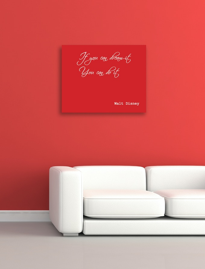 Personalize your favorite quotes to make them come alive.