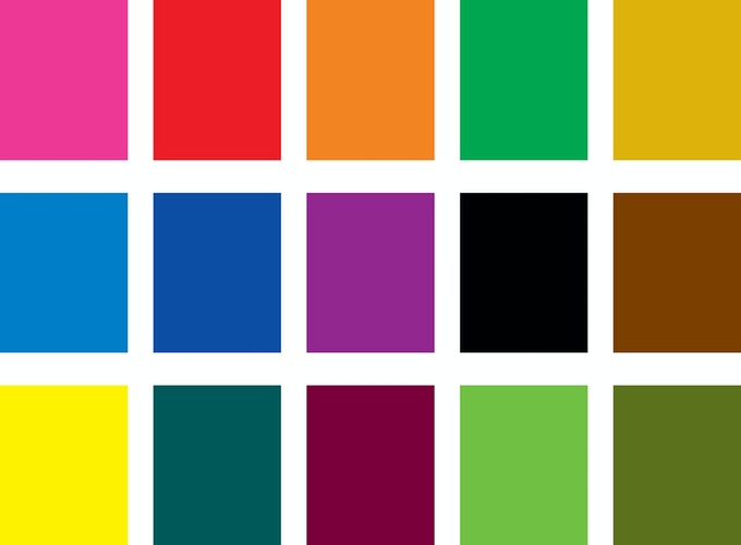 Our full range of rich colors.