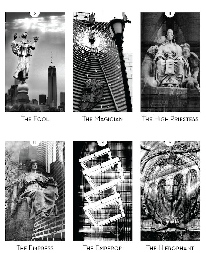 City Mystic • New York: Tarot Deck by Virginia Jester