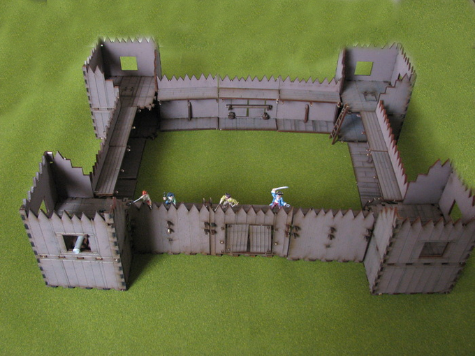 The Stockade Fort (includes four 18lb cannons!)