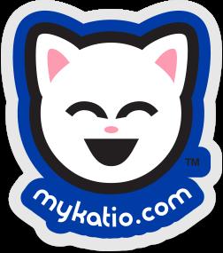 Kute Kitty Klear Kar Sticker