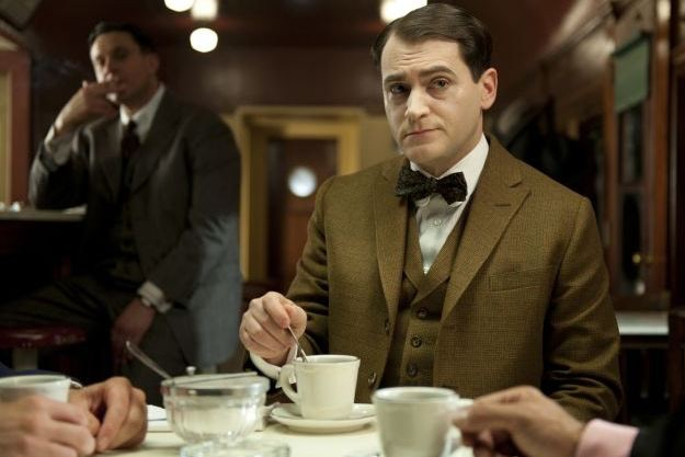 Michael Stuhlbarg as Arnold Rothstein in HBO's Boardwalk Empire