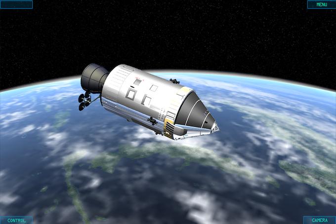Apollo CSM LEO
