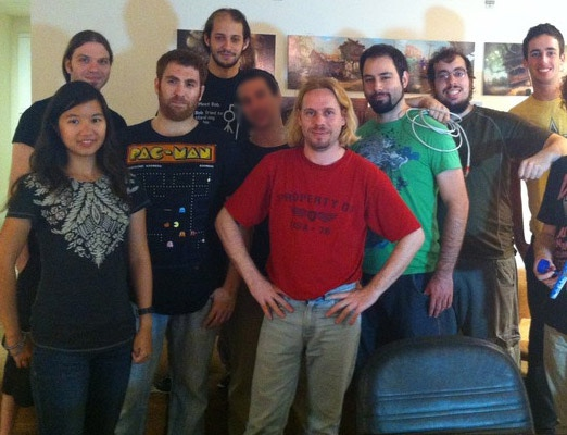 Adventure Mob circa July 2012 (Part of the team)