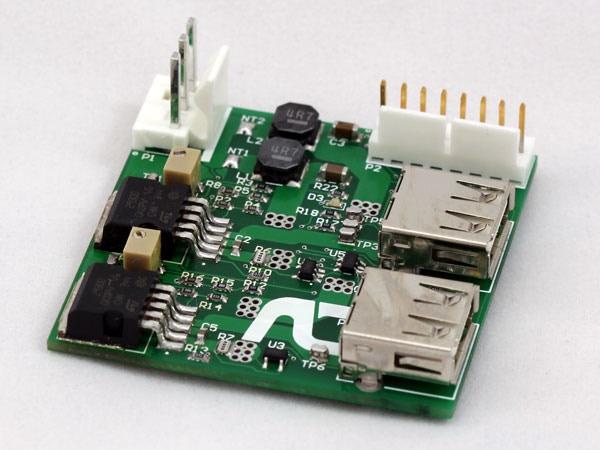 USB Output Circuit Prototype