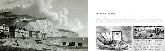 Sea bathing machines
