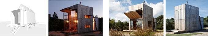 Construction examples (images of wooden beach house courtesy of Crosson Clarke Carnachan)