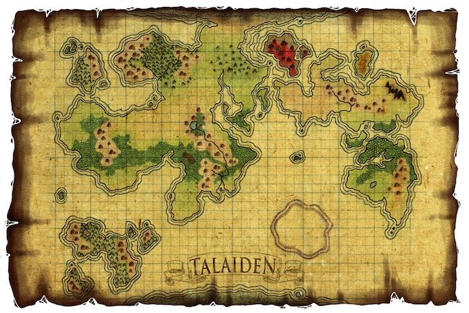 The World of Talaiden