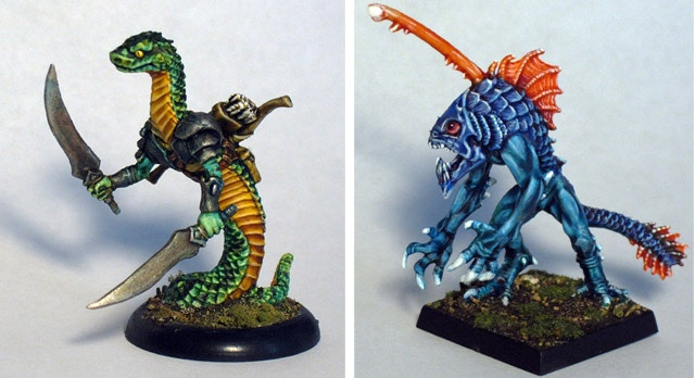 Models by Reaper Miniatures
