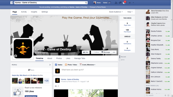 Our growing FaceBook Page
