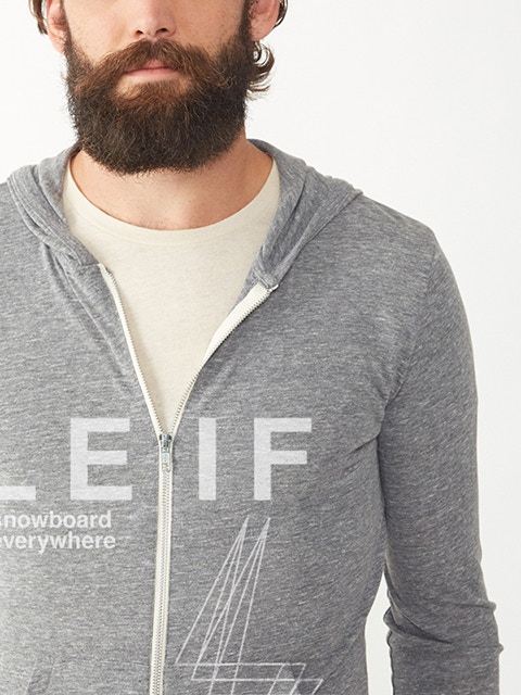 Hoodie in Prototype Grey (beard not included)