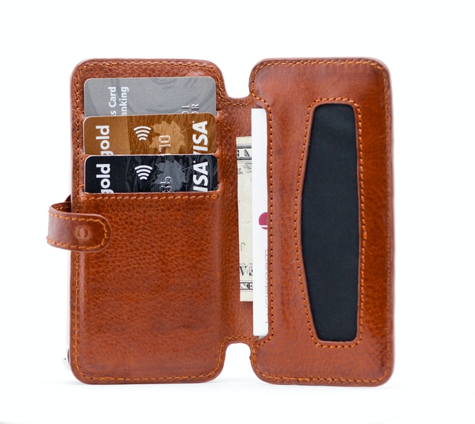 16a9009613e4 The Lucidream eXo is made from the best quality materials and is truly  functional. It is the only iPhone wallet that has a stainless steel inner  core to ...