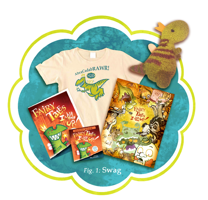 Tshirt, Plushy, Audio Book, Poster