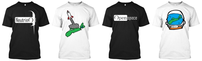 Our T-Shirt Reward Options!