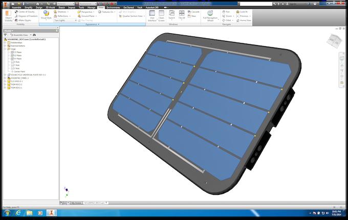 3D CAD Autodesk Inventor 2015