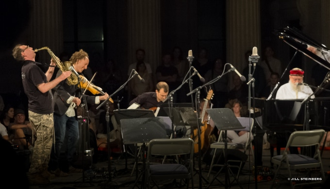Terry Riley and friends, Ex Situ with River to River, © Jill Steinberg