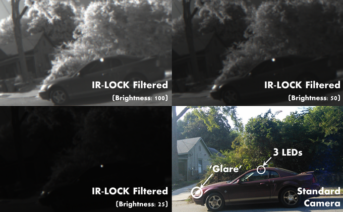 reduce chance of 'false detections' by changing brightness setting
