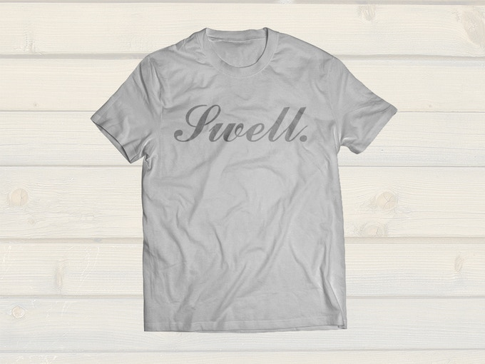 """Swell and Clean"" Crew T"