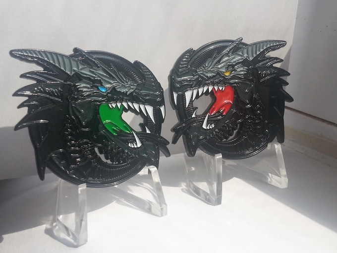 Coin #1 The Dragon
