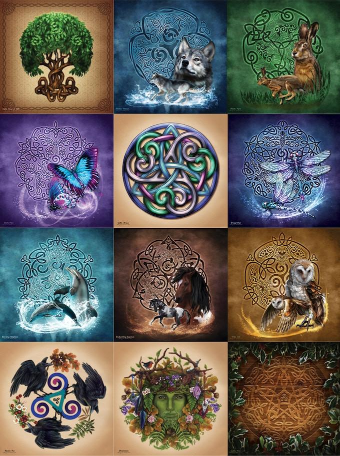 Celtic Art Calendar By Brigid Ashwood Kickstarter