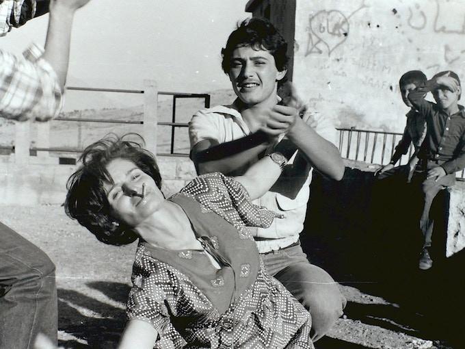 "'Om Ashad, by Diab Alkarssifi, Shleefa Village, 1984', A Lebanese Archive, Ania Dabrowska, 2014, b&w photograph, giclée print, 10"" x 8"", unframed, limited edition of 100"