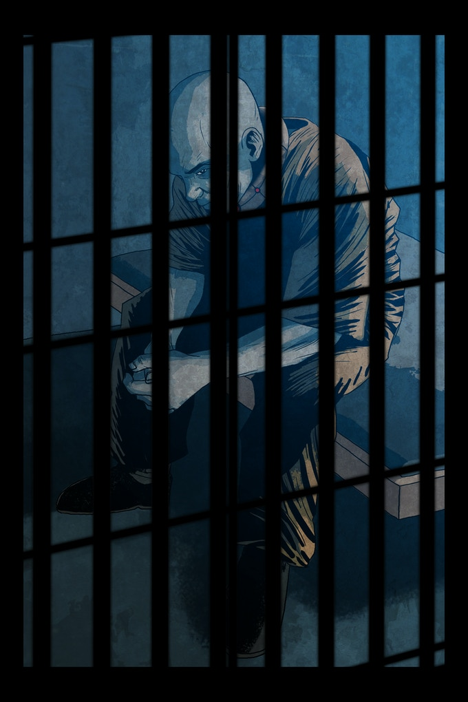 Solitary Issue 1: Behind Bars Variant Cover
