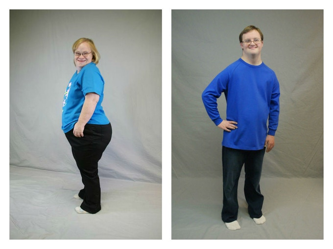 Our models Sheryl and Michael looking awesome in their Downs Designs jeans!