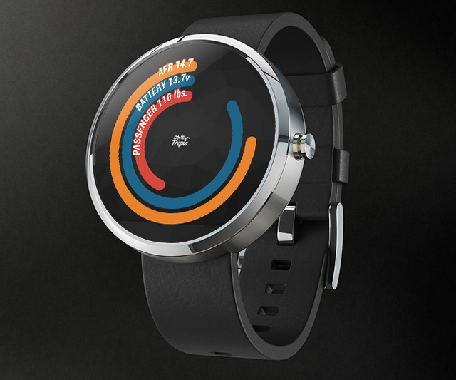 Android Wear Mockup