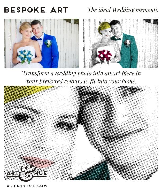 Wedding Art | Art & Hue | © ArtAndHue.com
