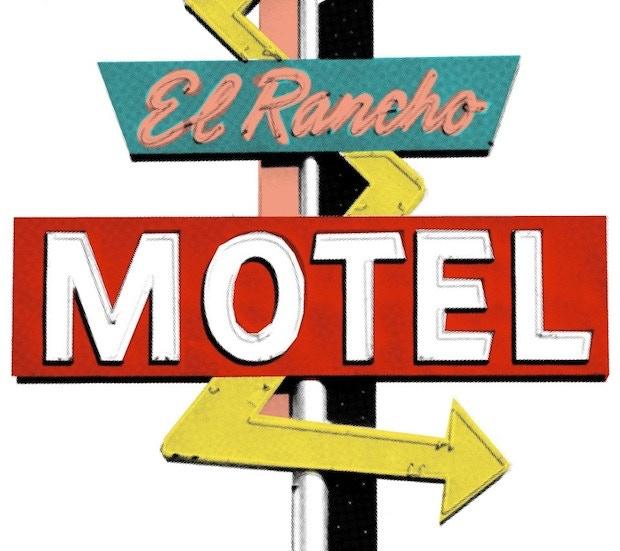 Motel | Retro & Vintage Art | Art & Hue | © ArtAndHue.com