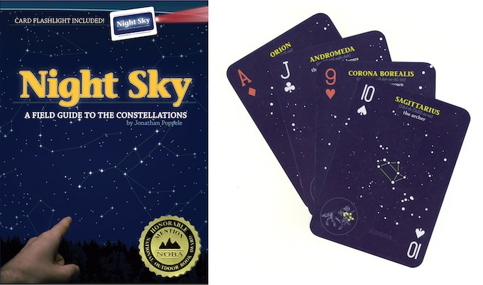 """The National Outdoor Book Awards calls Night Sky """"a perfectly portable companion for a night under the stars."""""""