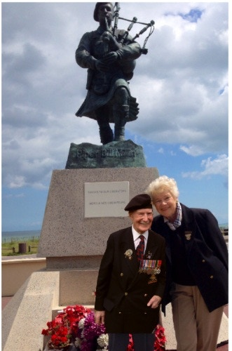 Get Bill on the Boat!' - Tribute Trip 100yr D-Day Veteran by