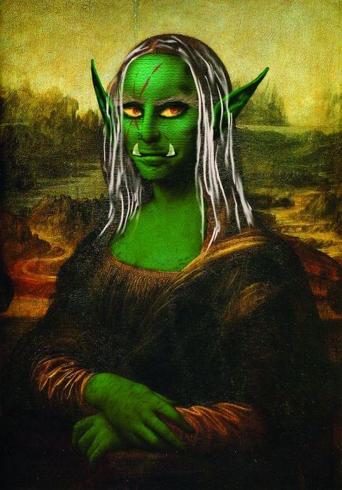 The Mona Goblin by Andrew DeFelice