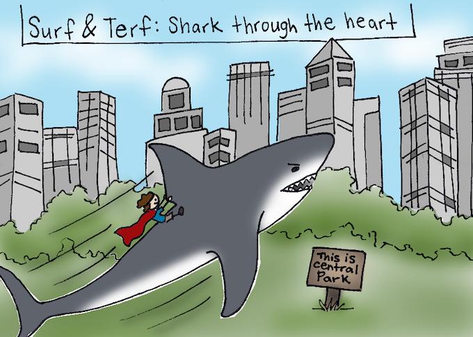 Surf & Terf saving NYC!!!