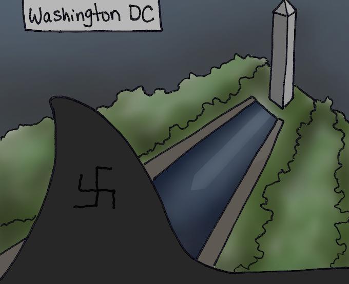 Nazi megalodon in DC!!
