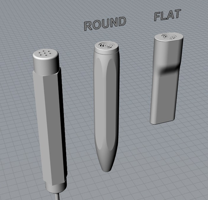 Initial Designs of probes
