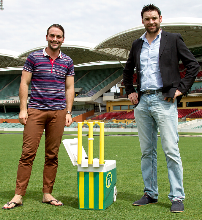 Creators of the Cricket Cooler