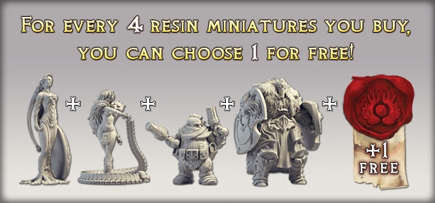 This offer does not include resin God of War