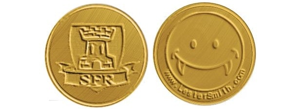 Prototype coin image; final design may differ