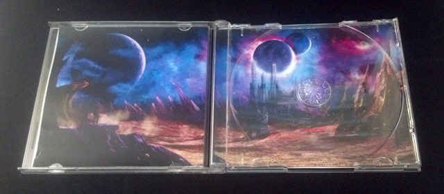 Test copy of the Frontiers CD empty inlay in jewelcase