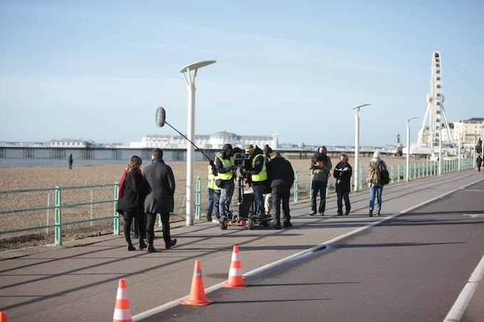Shooting on location in Brighton